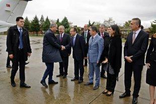 İçİşleri Bakanı Efkan Ala, Büyükşehir Belediye Başkanı A. Edip Uğur`u Ziyaret Etti