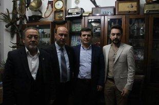 Başkan'dan Dursunbey'liler Derneğine ziyaret