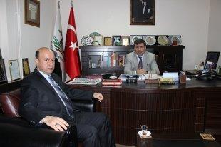 Kepsut Belediye Başkanı adaylık sürecinde Ercan BAL'a başarılar diledi.